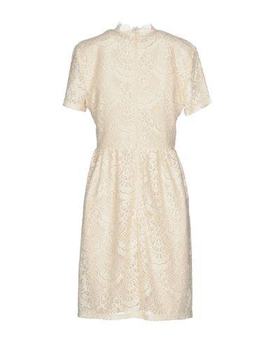 Фото 2 - Женское короткое платье DRY LAKE. цвет слоновая кость
