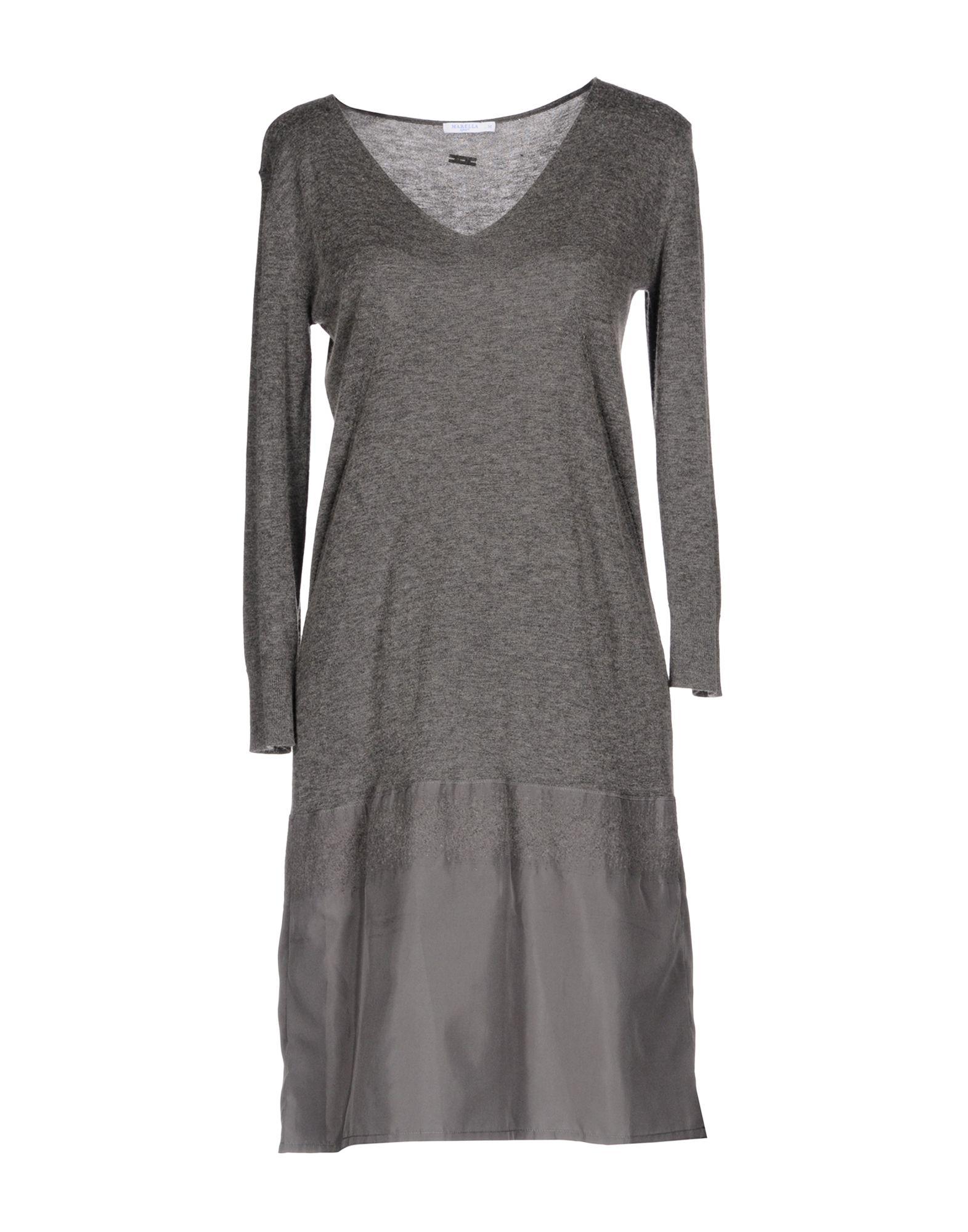 MARELLA SPORT Короткое платье marella платье марелла sede 0316 черный 44 чёрный