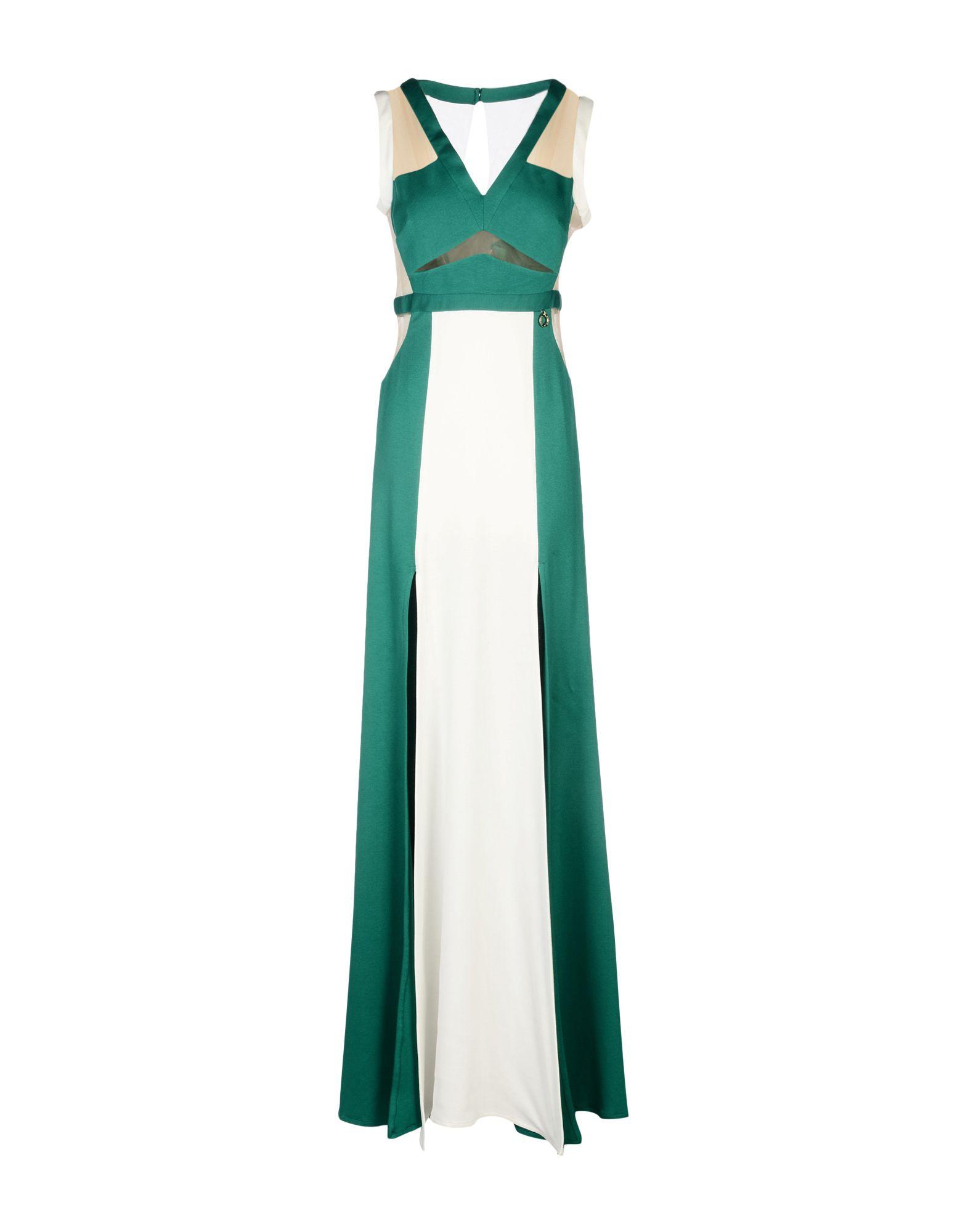MANGANO Длинное платье clio peppiatt длинное платье