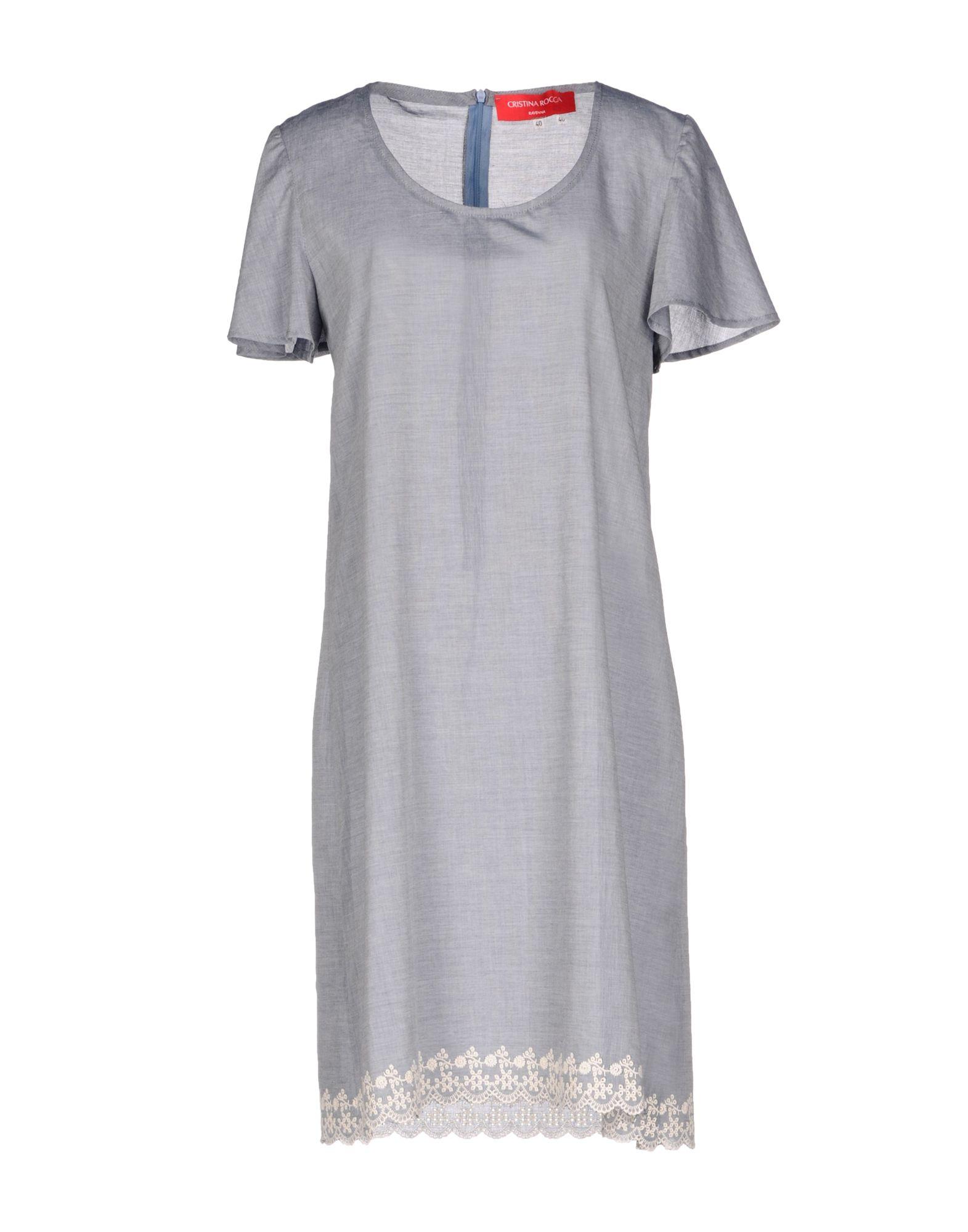 цена CRISTINA ROCCA Короткое платье онлайн в 2017 году