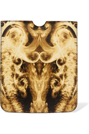 GIVENCHY Printed faux leather iPad case