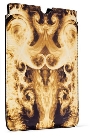 GIVENCHY Printed faux textured-leather iPad Mini case