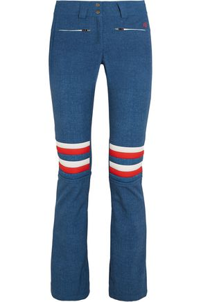 PERFECT MOMENT Aurora Denim flared ski pants