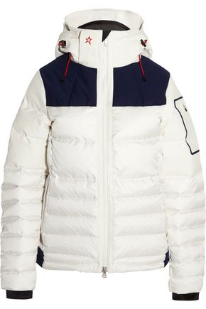 PERFECT MOMENT Amak quilted down ski jacket