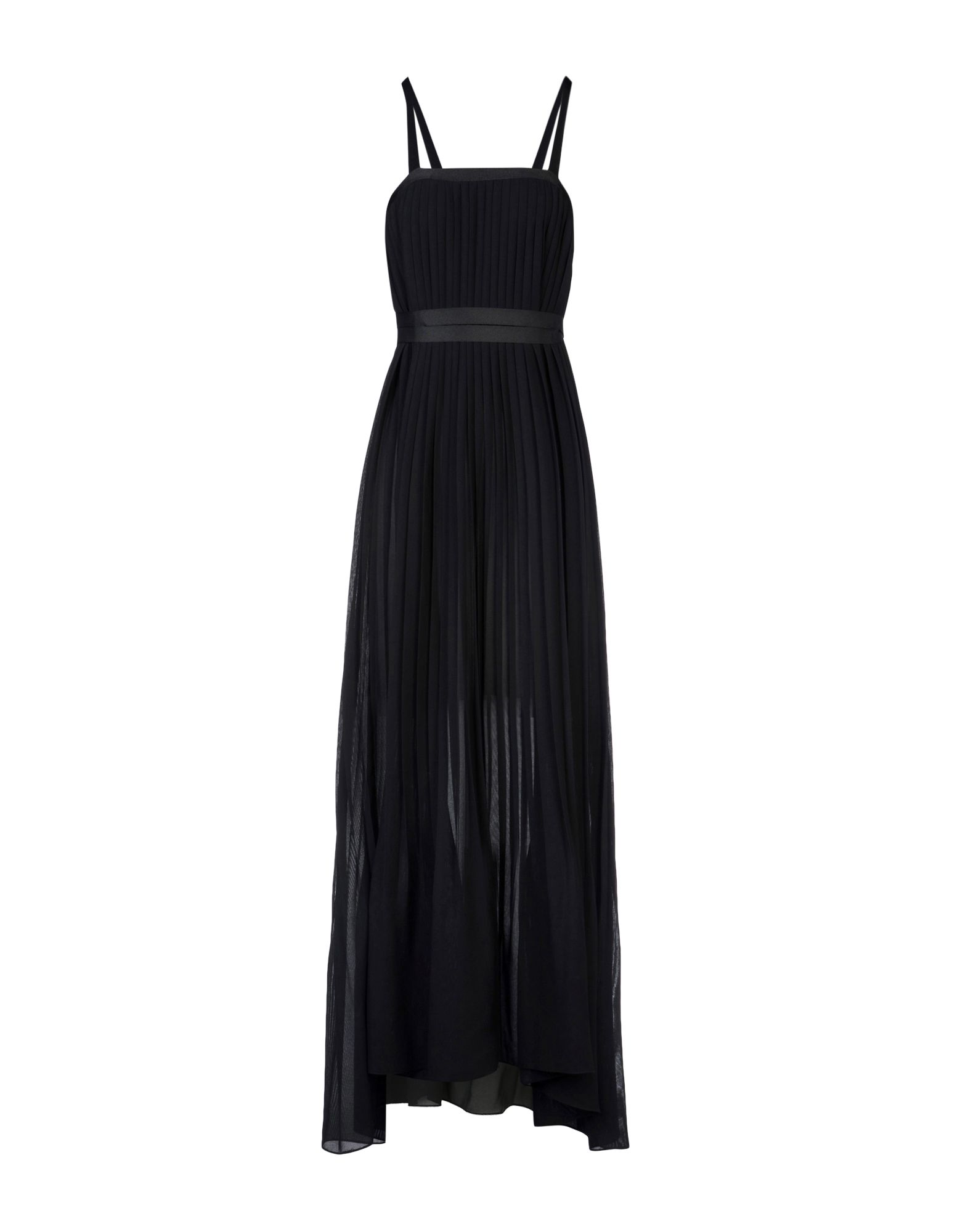 《送料無料》BY. BONNIE YOUNG レディース ロングワンピース&ドレス ブラック S ポリエステル 100%