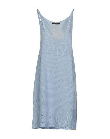 Фото - Женское короткое платье TWINSET небесно-голубого цвета