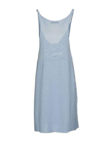 Фото 2 - Женское короткое платье TWINSET небесно-голубого цвета