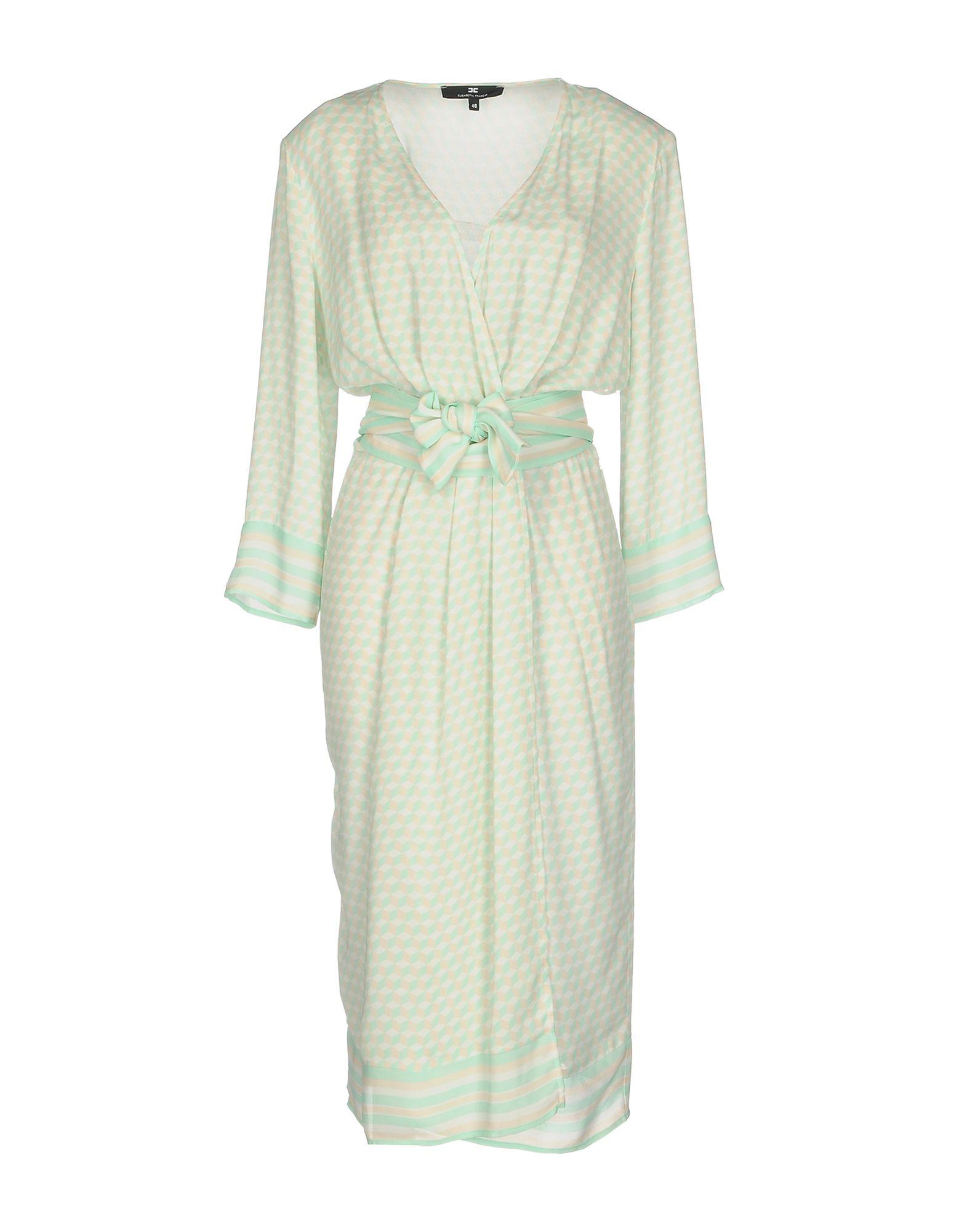 ELISABETTA FRANCHI Платье длиной 3/4 lisa corti платье длиной 3 4