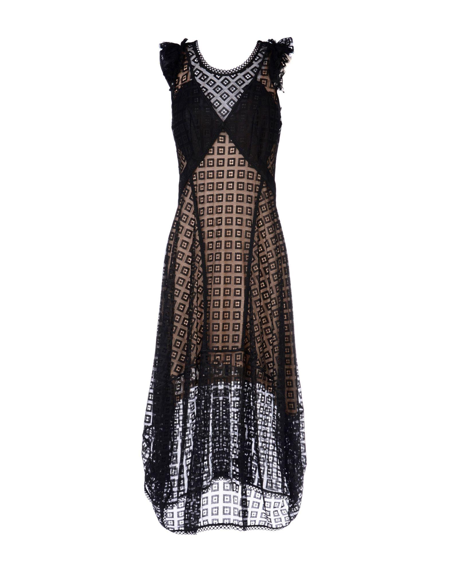HIGH TECH Платье длиной 3/4 lisa corti платье длиной 3 4