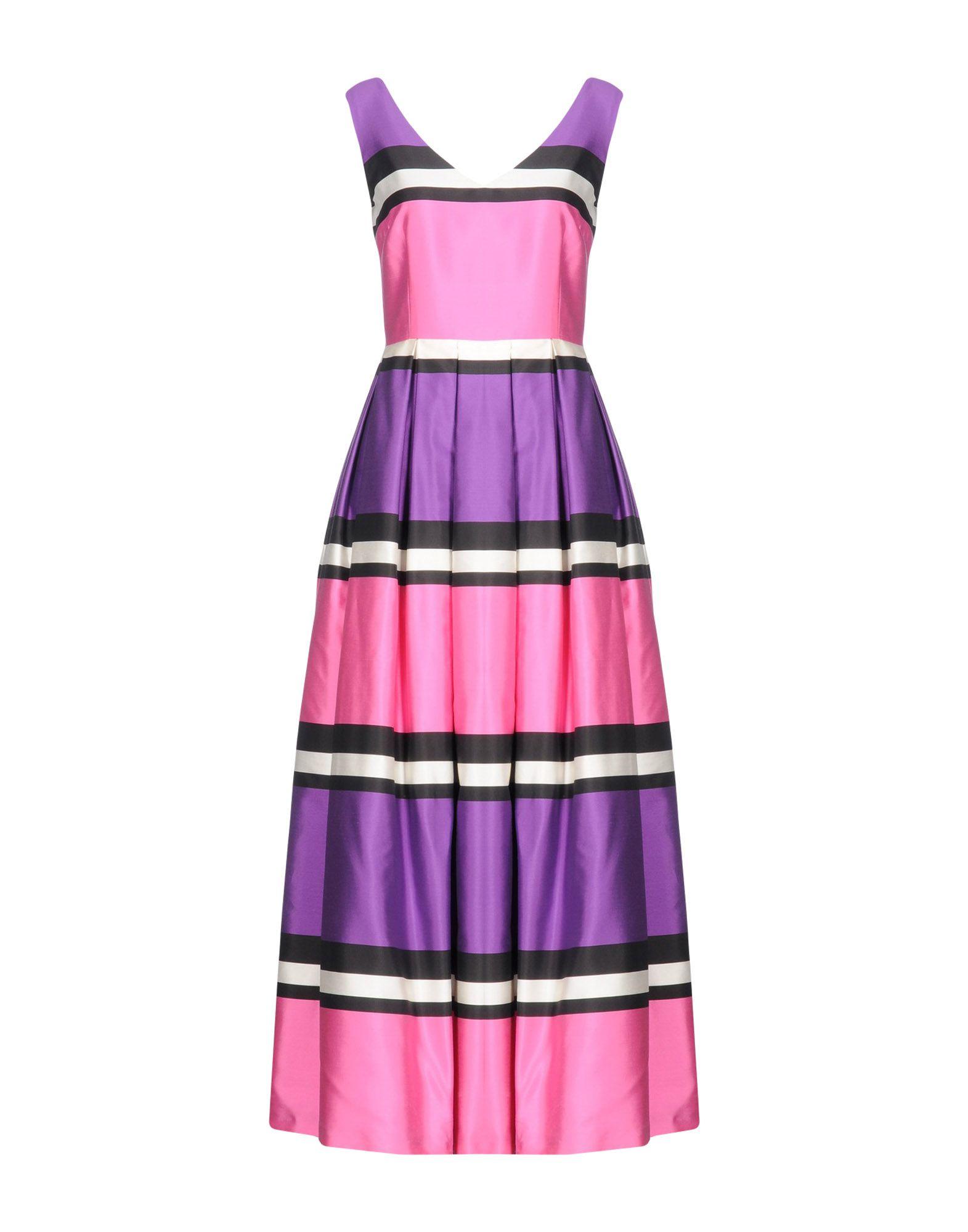 цена MATILDE CANO Длинное платье онлайн в 2017 году