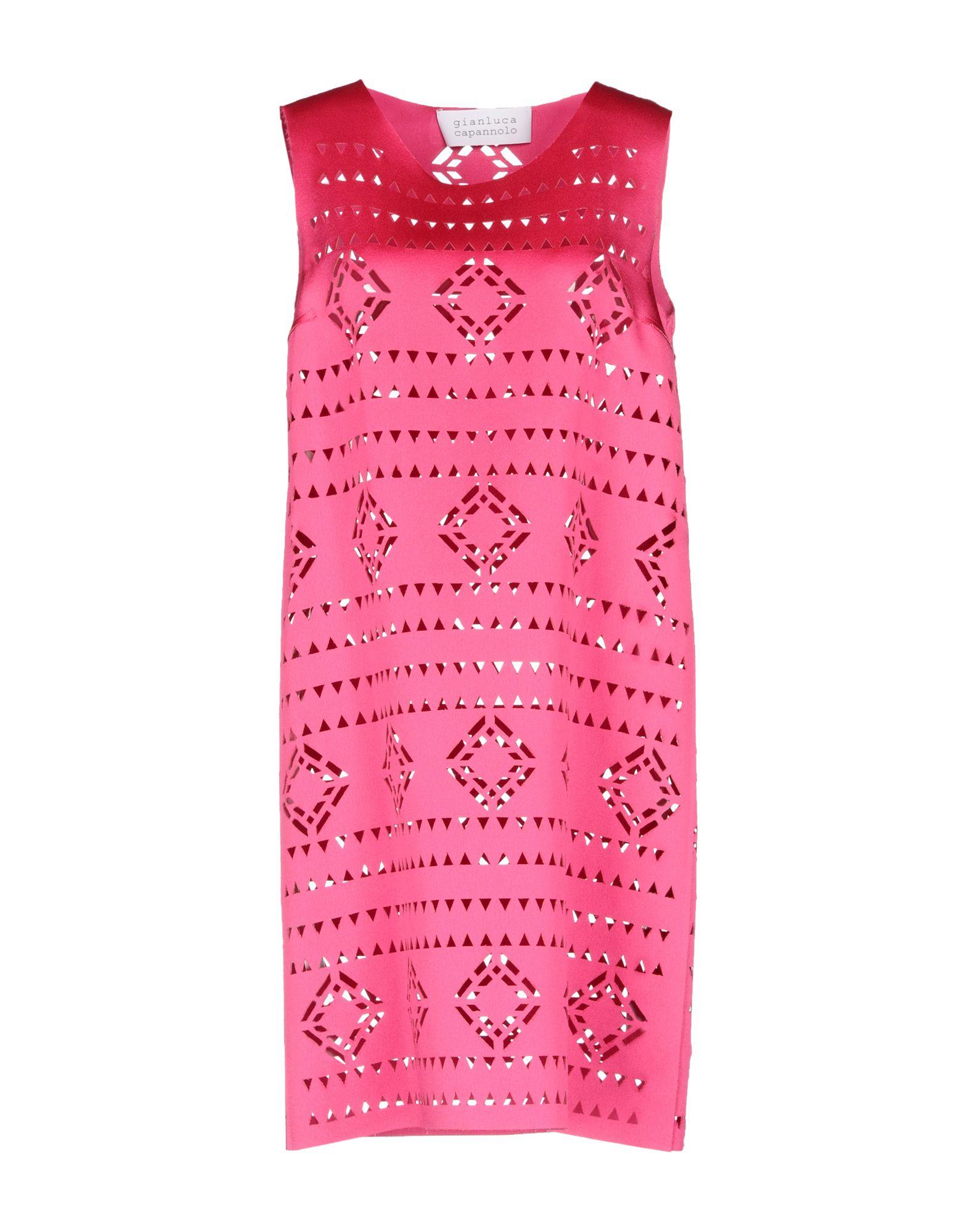 цены на GIANLUCA CAPANNOLO Короткое платье в интернет-магазинах