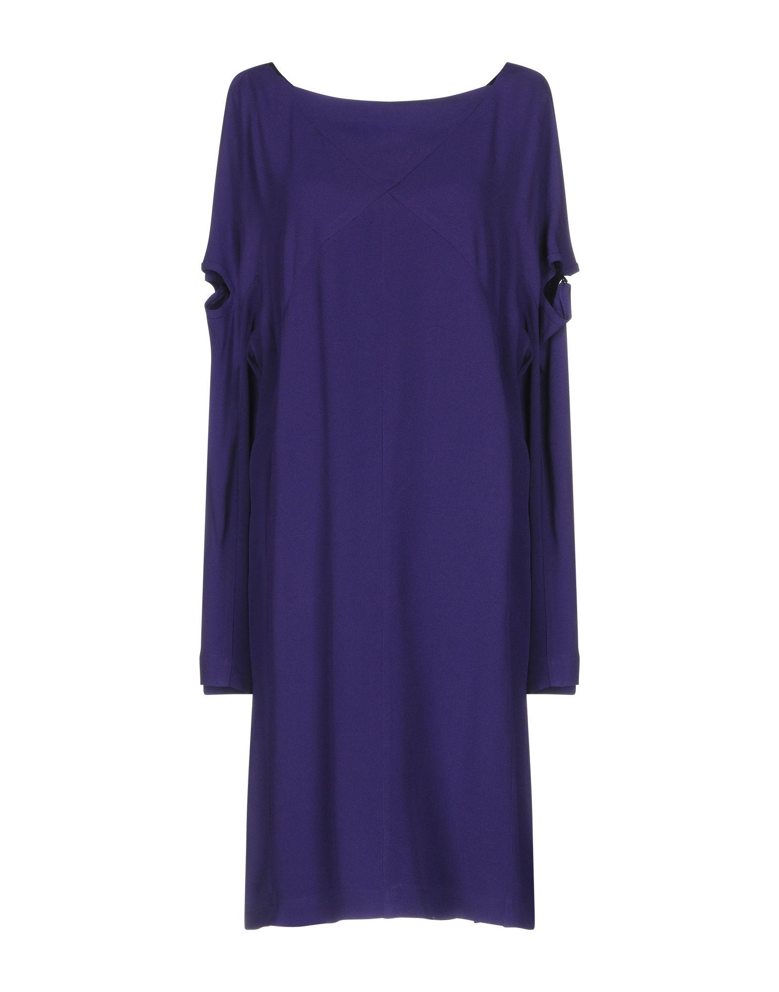 LUTZ HUELLE Short Dress in Purple