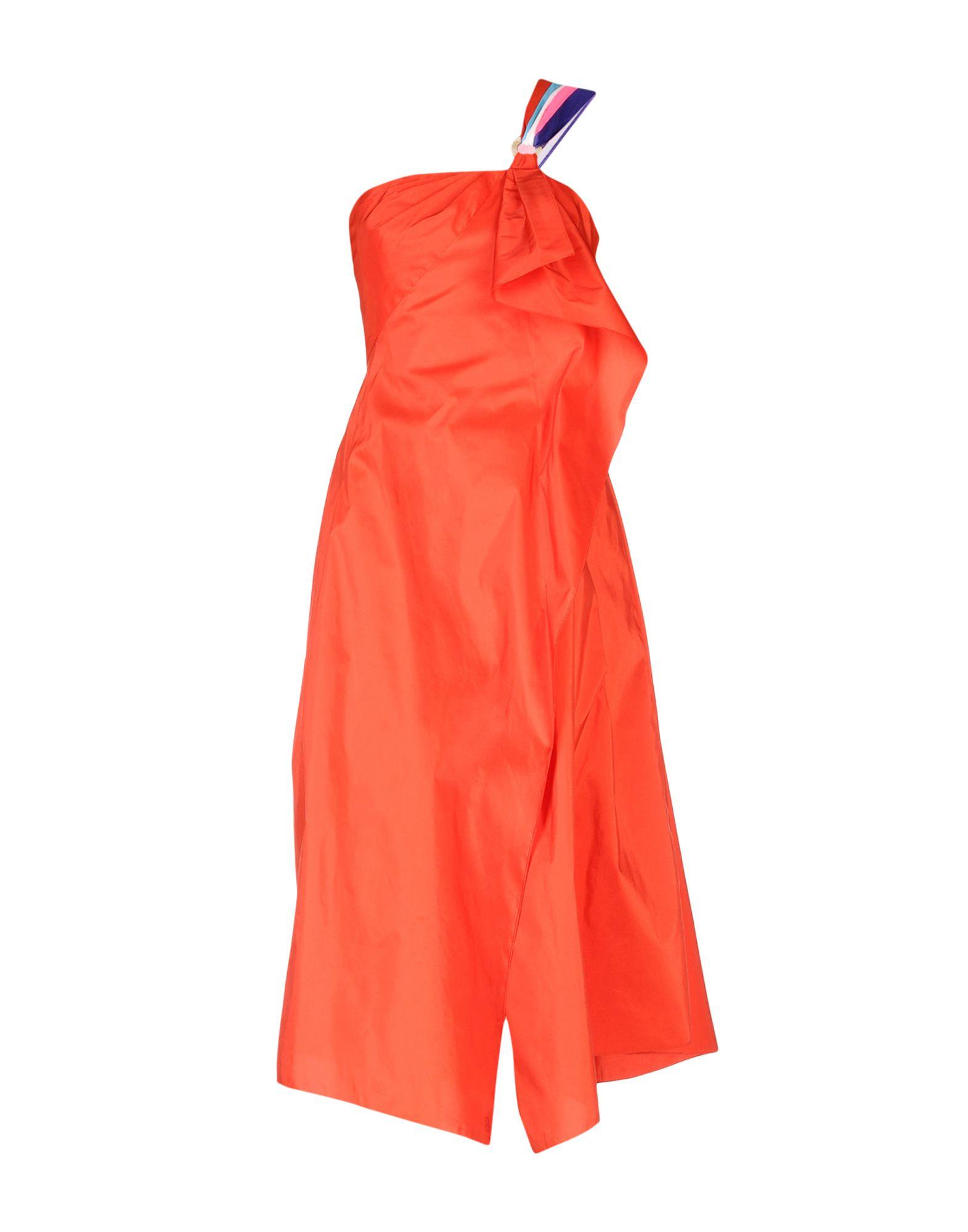PETER PILOTTO Платье длиной 3/4 peter pilotto платье с вышивкой