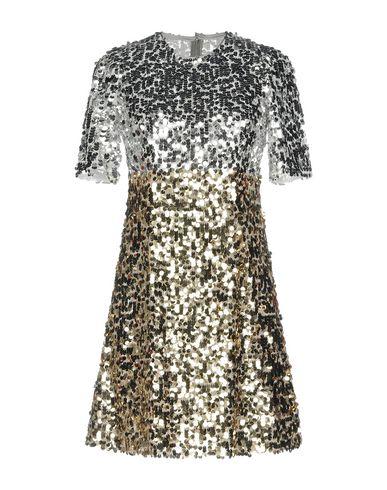 Фото - Женское короткое платье  серебристого цвета