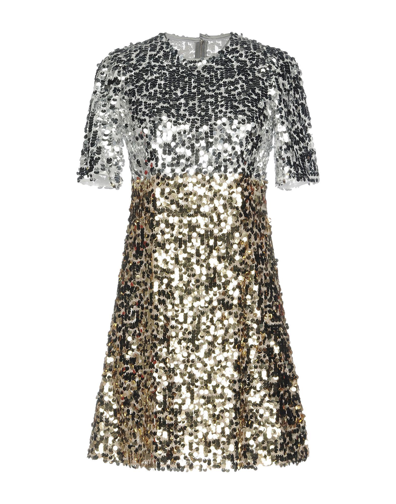 купить DOLCE & GABBANA Короткое платье по цене 101000 рублей