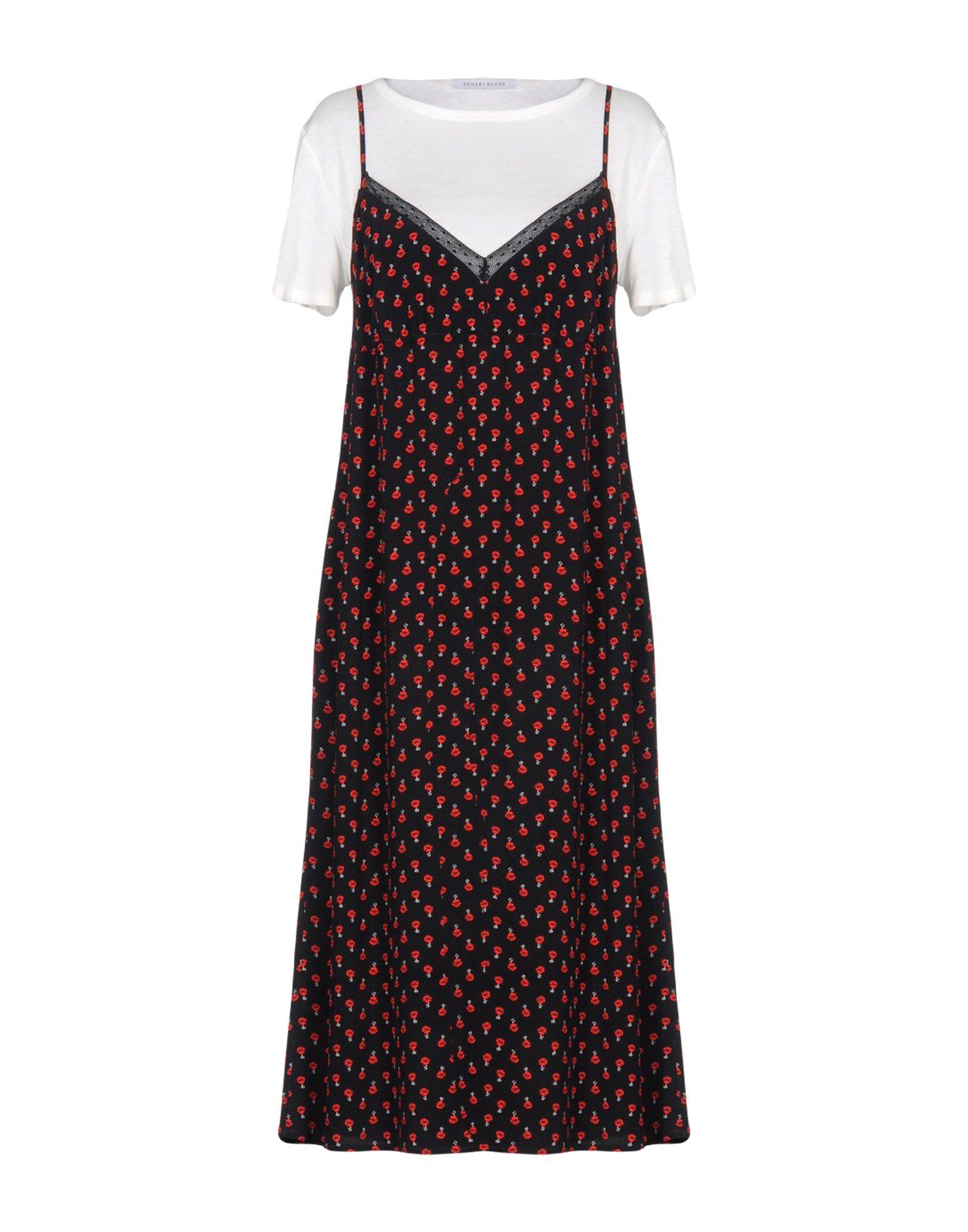цена I BLUES Платье длиной 3/4 онлайн в 2017 году