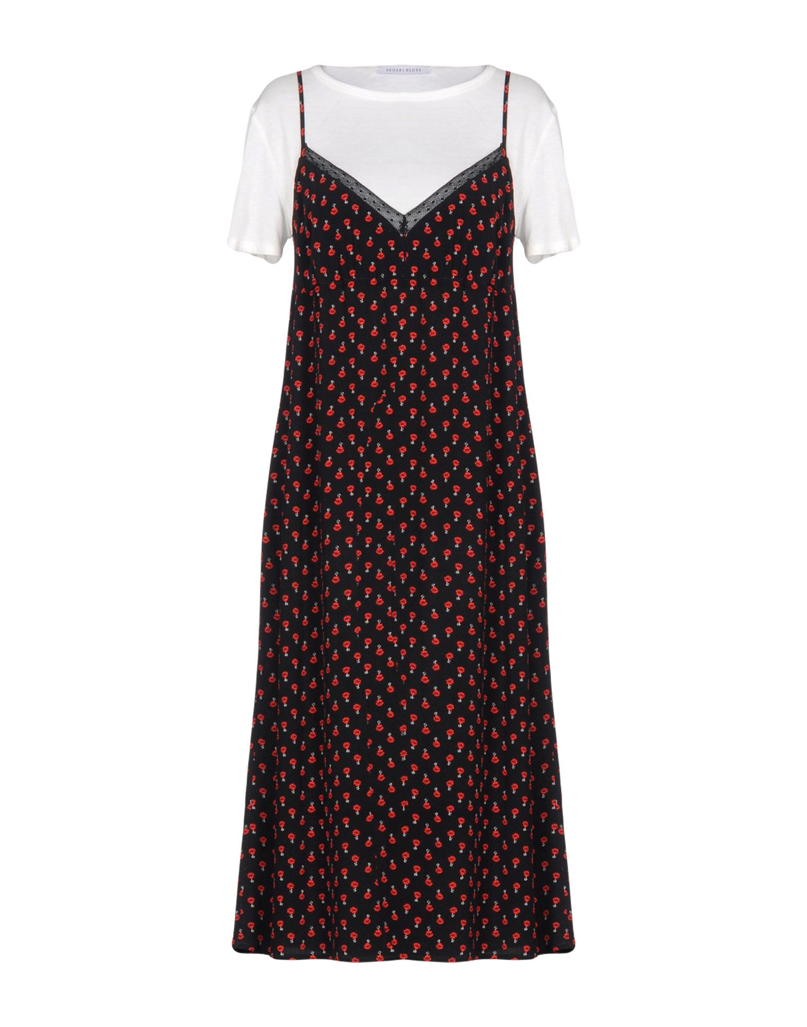 I BLUES Платье длиной 3/4 lisa corti платье длиной 3 4