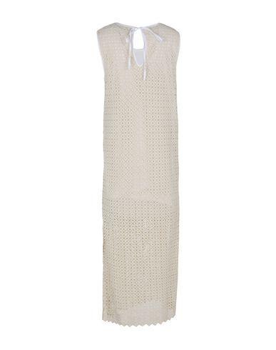 Фото 2 - Женское длинное платье  цвет слоновая кость