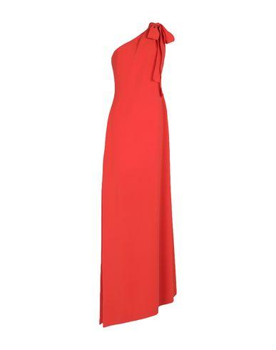 Фото - Женское длинное платье  оранжевого цвета
