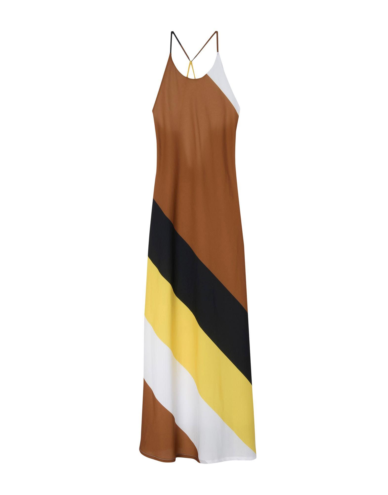 цена SANDRO FERRONE Длинное платье онлайн в 2017 году
