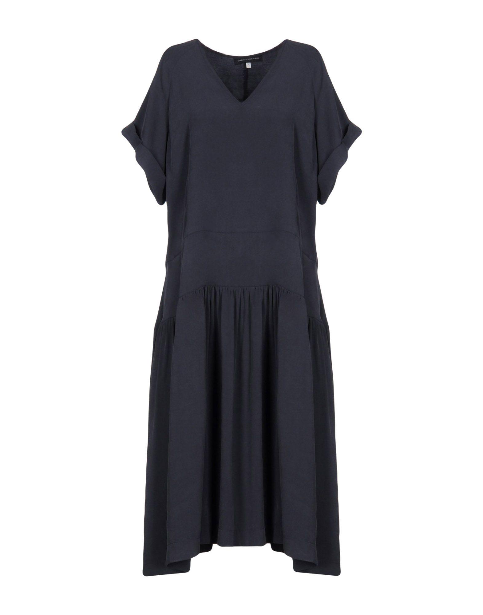 цена ANDREA MORANDO Платье до колена онлайн в 2017 году