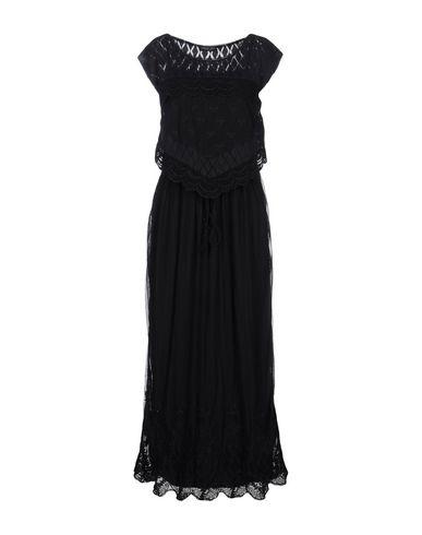 Фото - Женское длинное платье TWINSET черного цвета