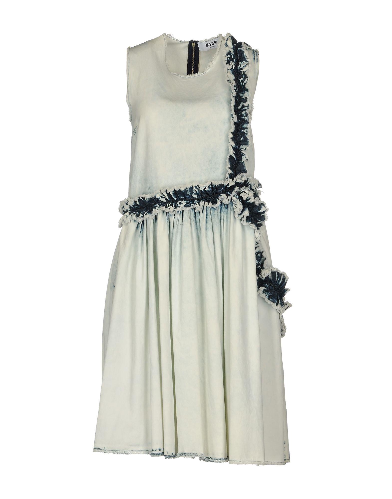 MSGM Платье до колена msgm одежда
