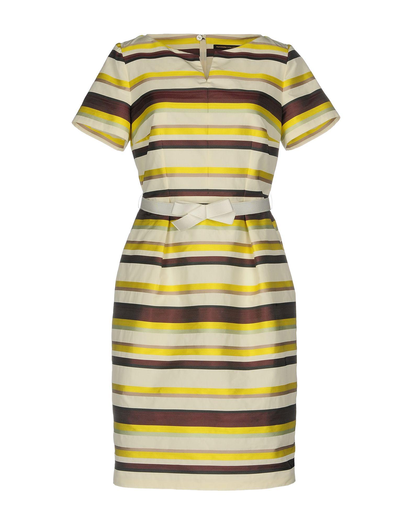цена NATAN COLLECTION Короткое платье онлайн в 2017 году
