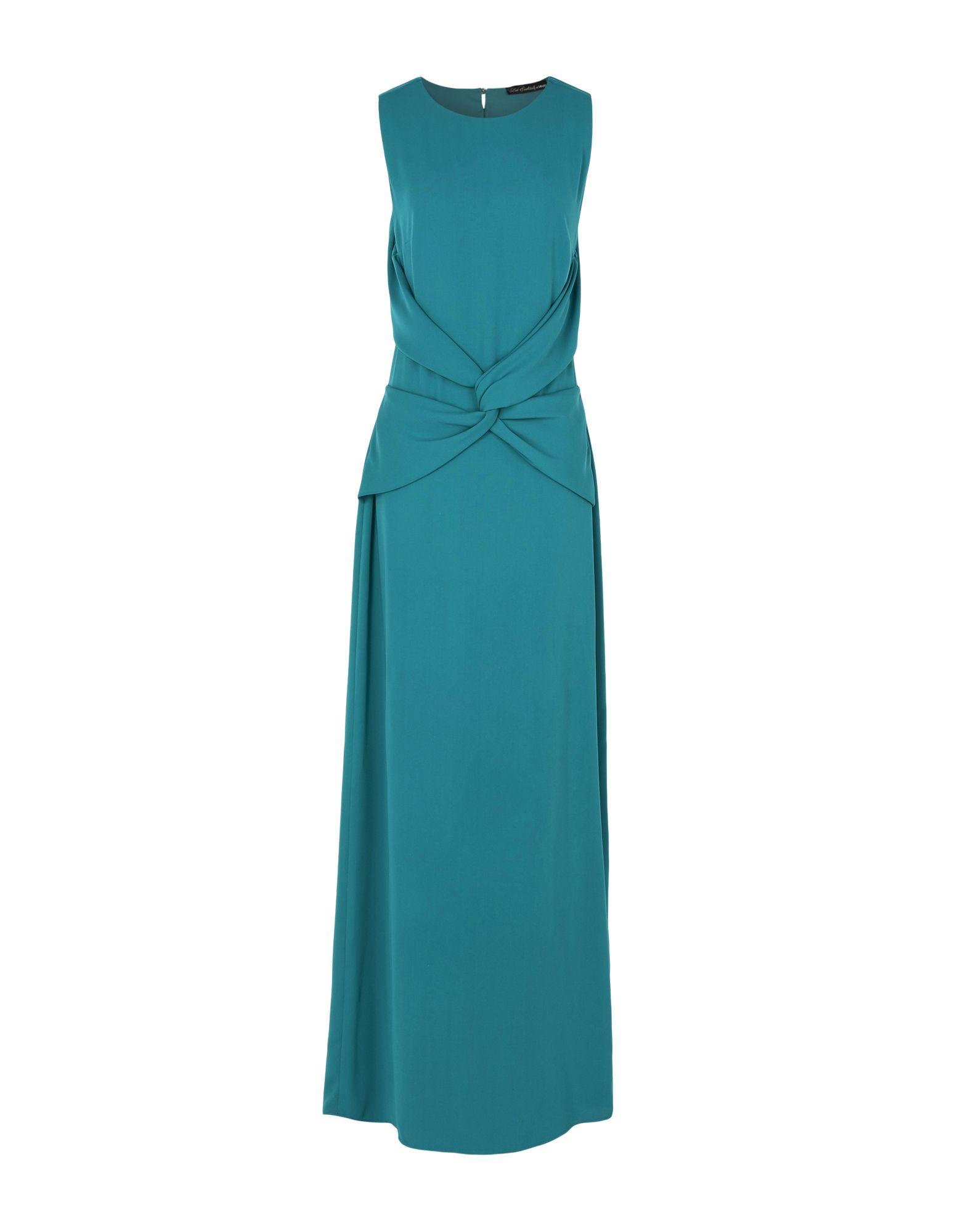 LES COCKTAILS DE LIU •JO Damen Langes Kleid Farbe Tūrkis Größe 5
