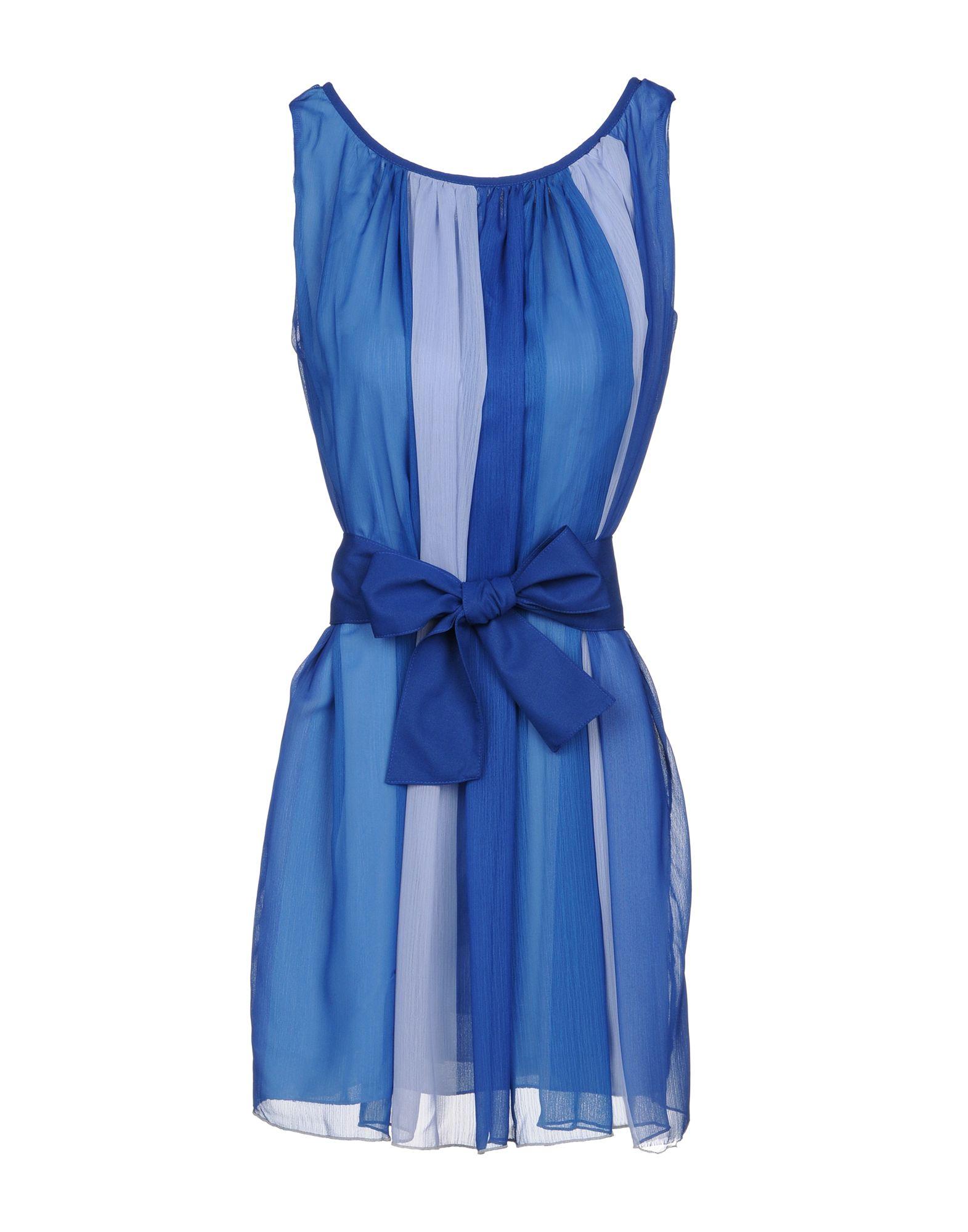 купить MAISON ESPIN Короткое платье по цене 7150 рублей
