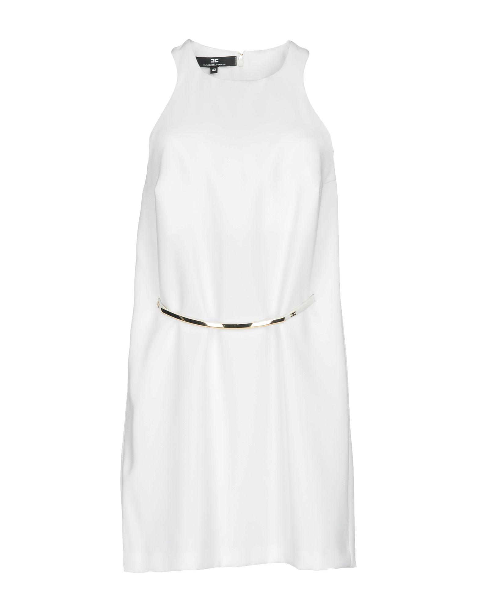 ELISABETTA FRANCHI 24 ORE Короткое платье elisabetta franchi футболка
