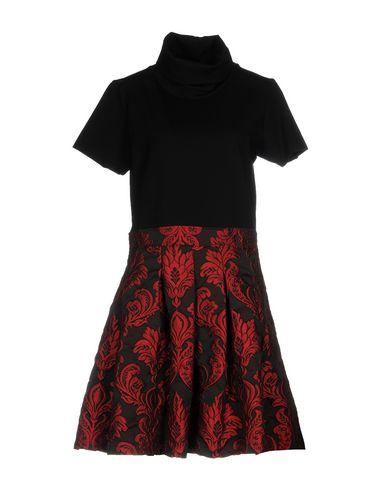 Фото - Женское короткое платье JIJIL черного цвета