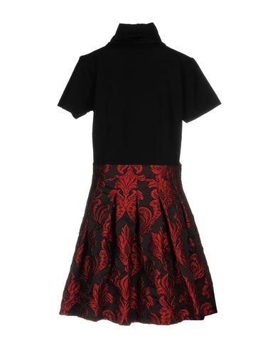 Фото 2 - Женское короткое платье JIJIL черного цвета