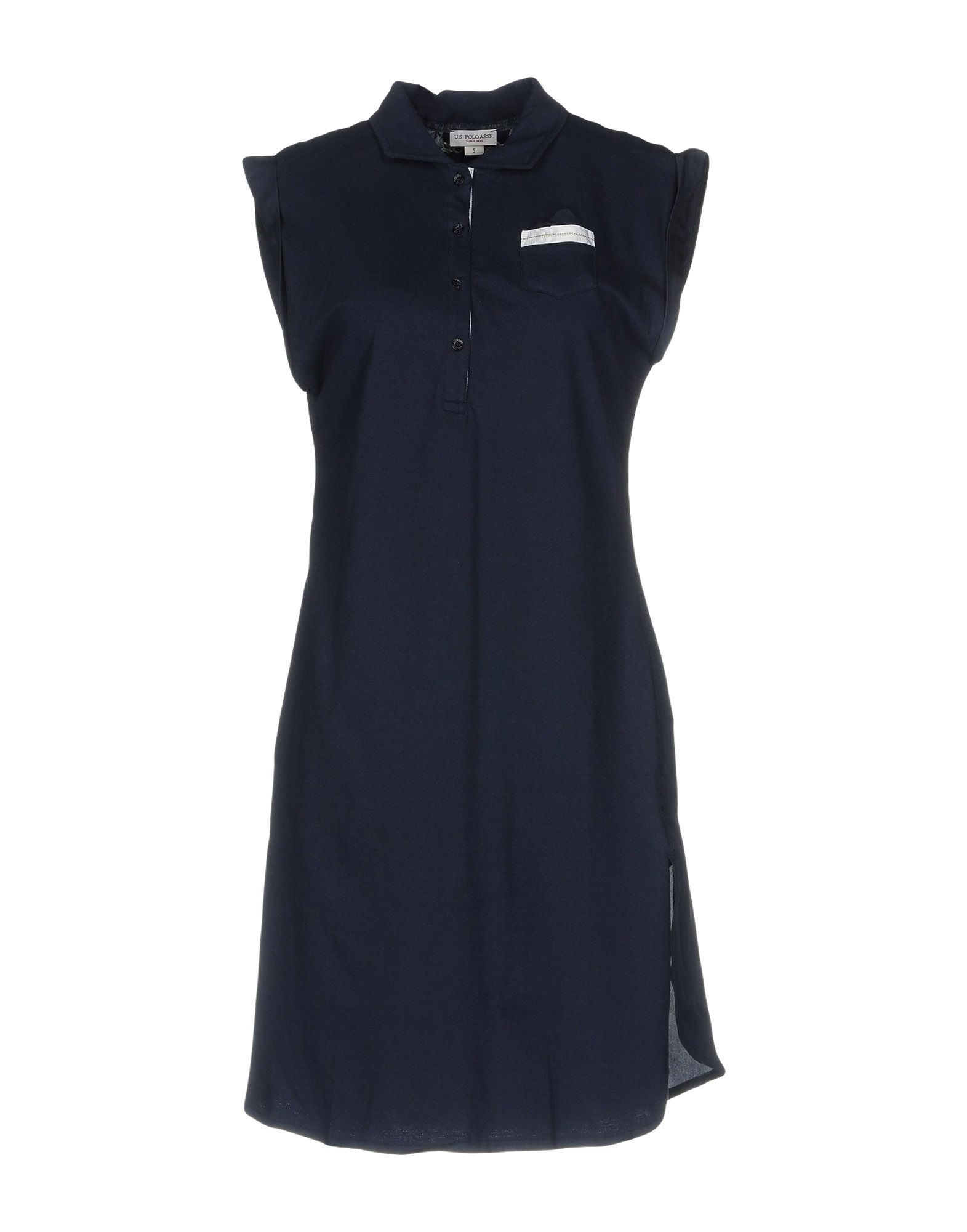 U.S.POLO ASSN. Damen Kurzes Kleid Farbe Dunkelblau Größe 6