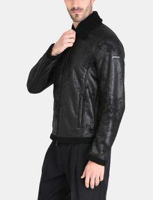 ARMANI EXCHANGE FAUX-SHEARLING B3 JACKET Jacket [*** pickupInStoreShippingNotGuaranteed_info ***] d