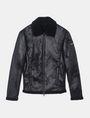 ARMANI EXCHANGE FAUX-SHEARLING B3 JACKET Jacket Man b