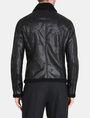 ARMANI EXCHANGE FAUX-SHEARLING B3 JACKET Jacket Man r