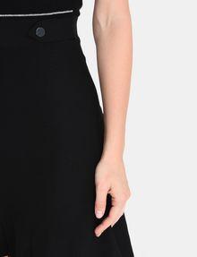 ARMANI EXCHANGE METALLIC STRIPE FIT AND FLARE DRESS Mini dress Woman e