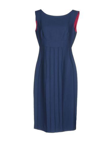 Фото - Платье до колена от IVAN MONTESI синего цвета