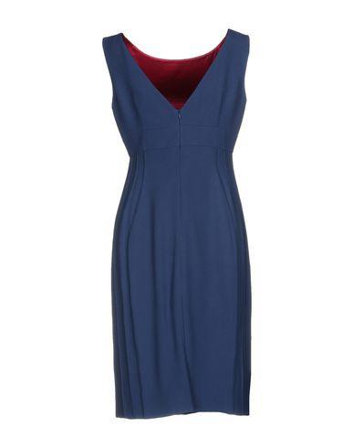 Фото 2 - Платье до колена от IVAN MONTESI синего цвета