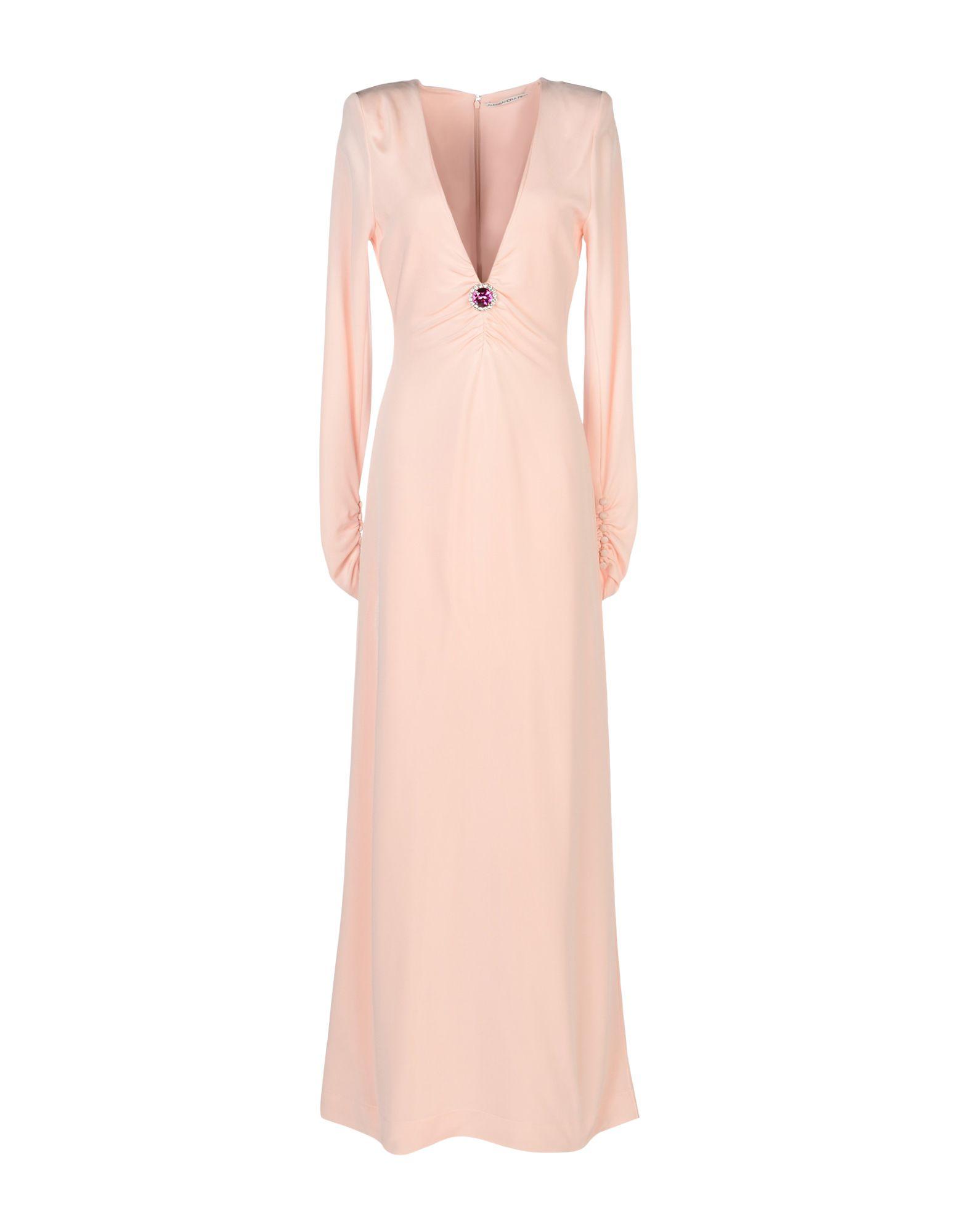 ALESSANDRA RICH Длинное платье alessandra marchi короткое платье