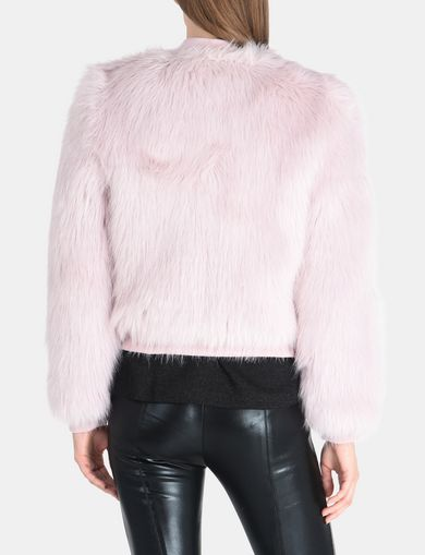 FAUX-FUR TOPPER