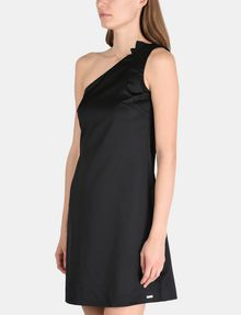 ARMANI EXCHANGE ONE-SHOULDER A-LINE DRESS Mini dress Woman d