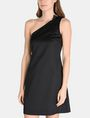 ARMANI EXCHANGE ONE-SHOULDER A-LINE DRESS Mini dress Woman f