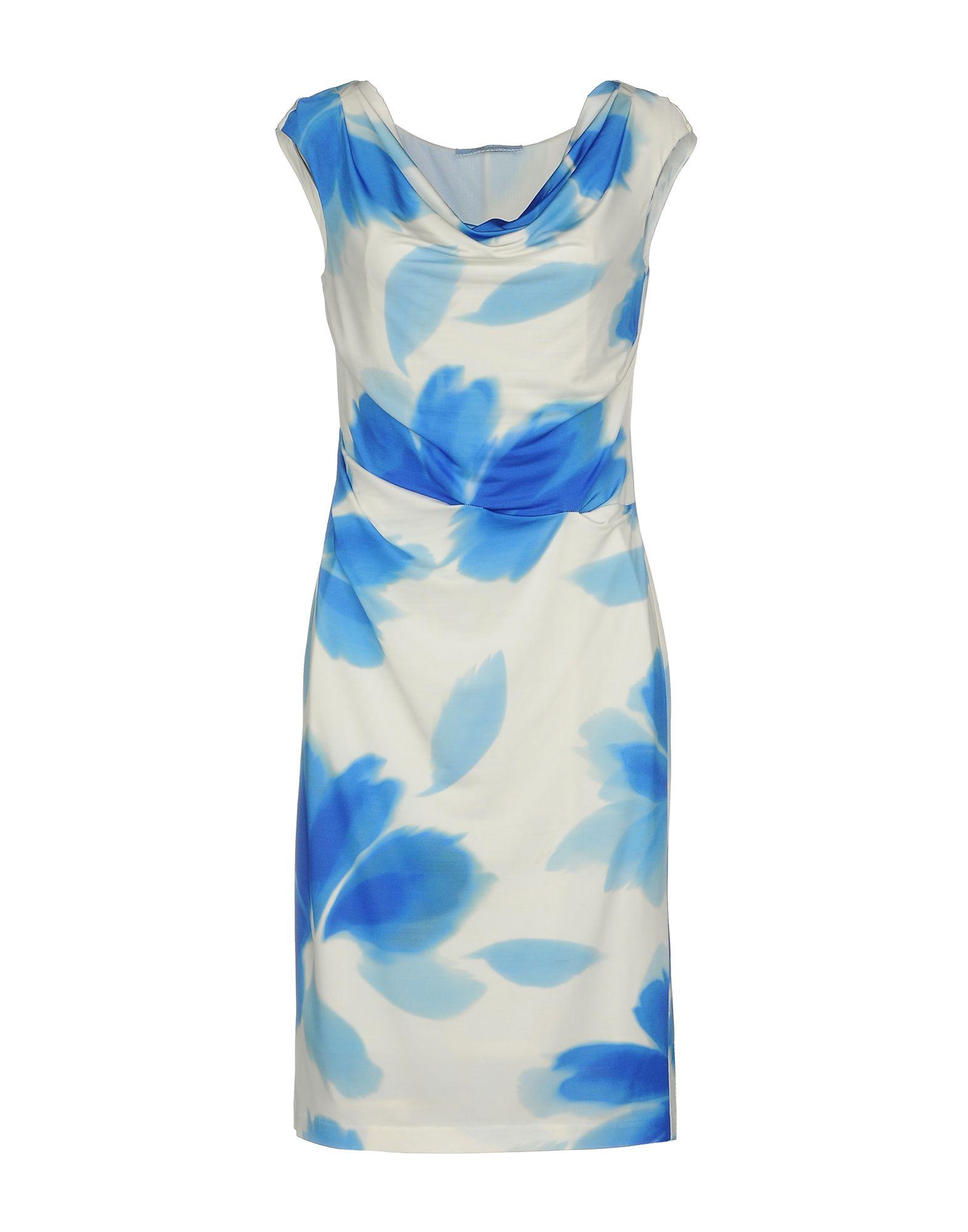 BLUMARINE Короткое платье коктейльное платье с драпировкой bebe платья и сарафаны коктейльные