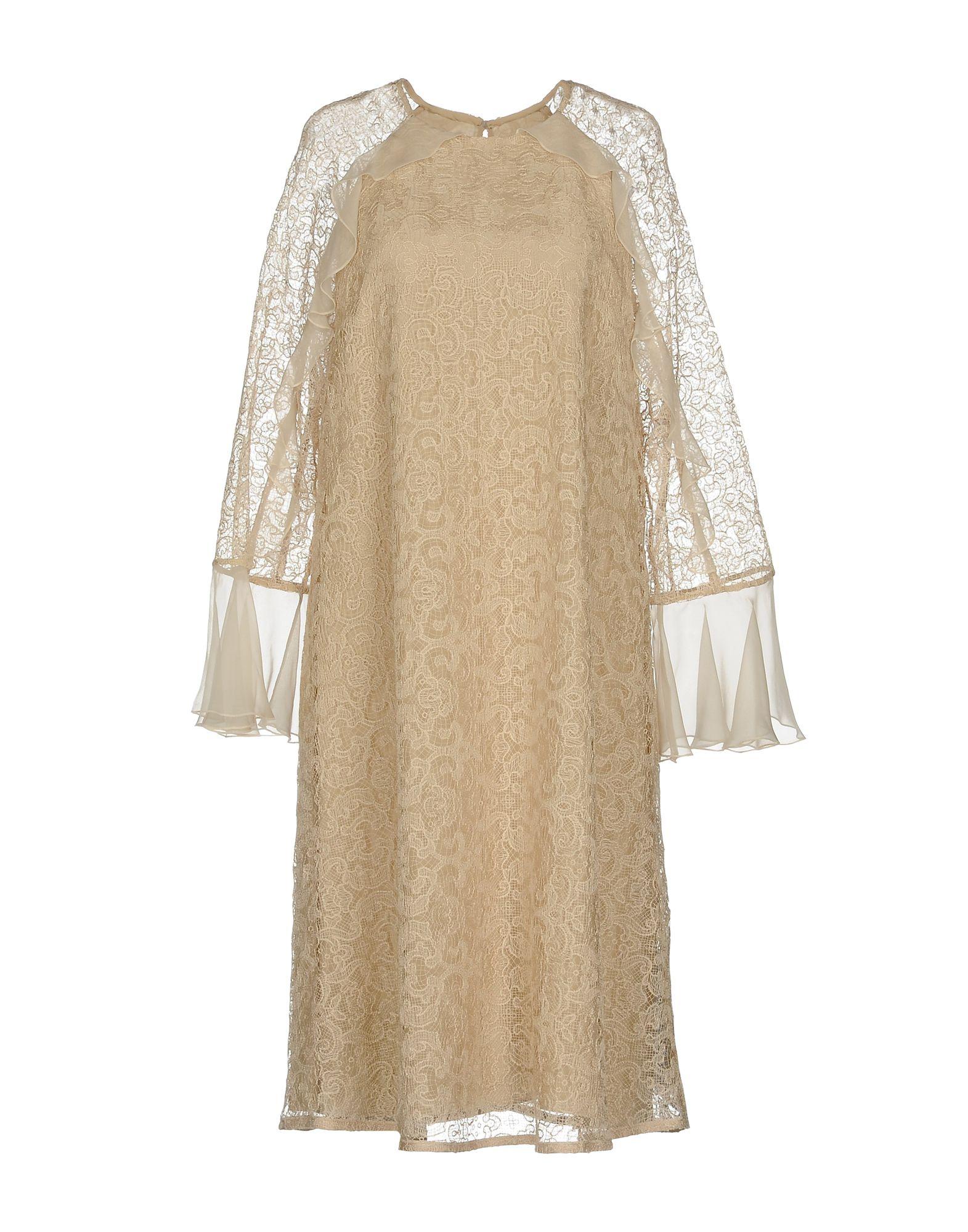 FONTANA COUTURE Платье до колена moschino couture сандалии
