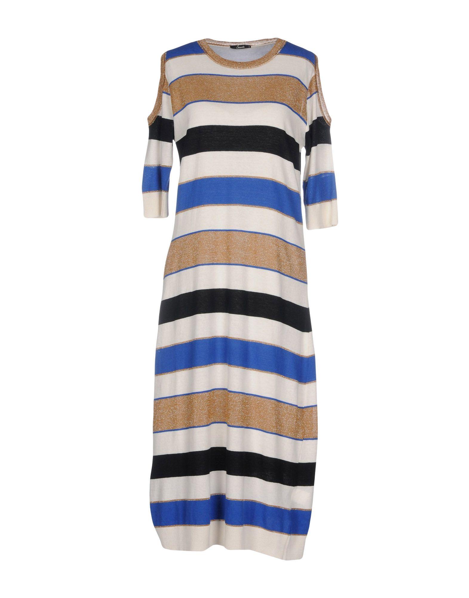 SUERTE Платье длиной 3/4 lisa corti платье длиной 3 4