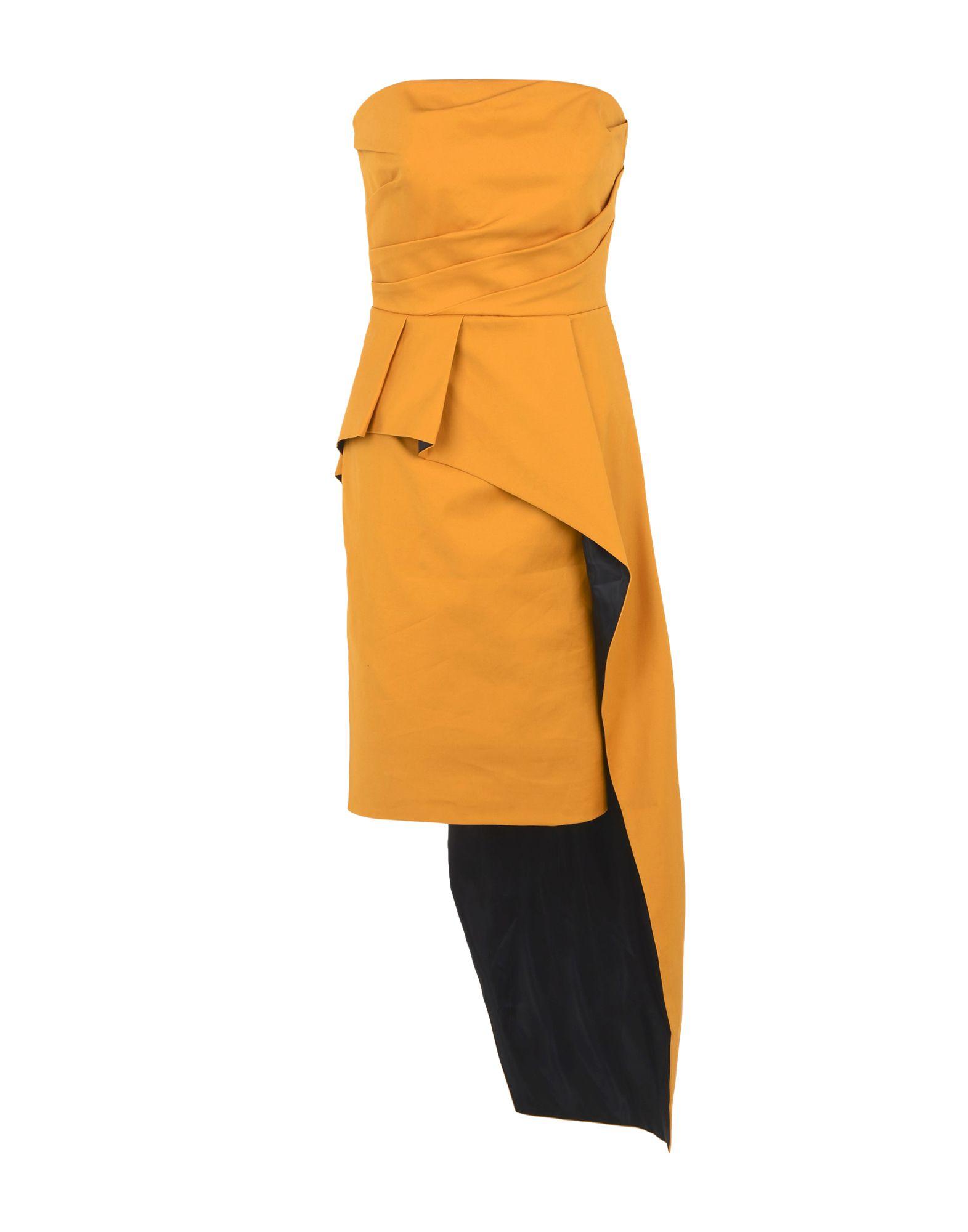 TY-LR Short Dress in Camel