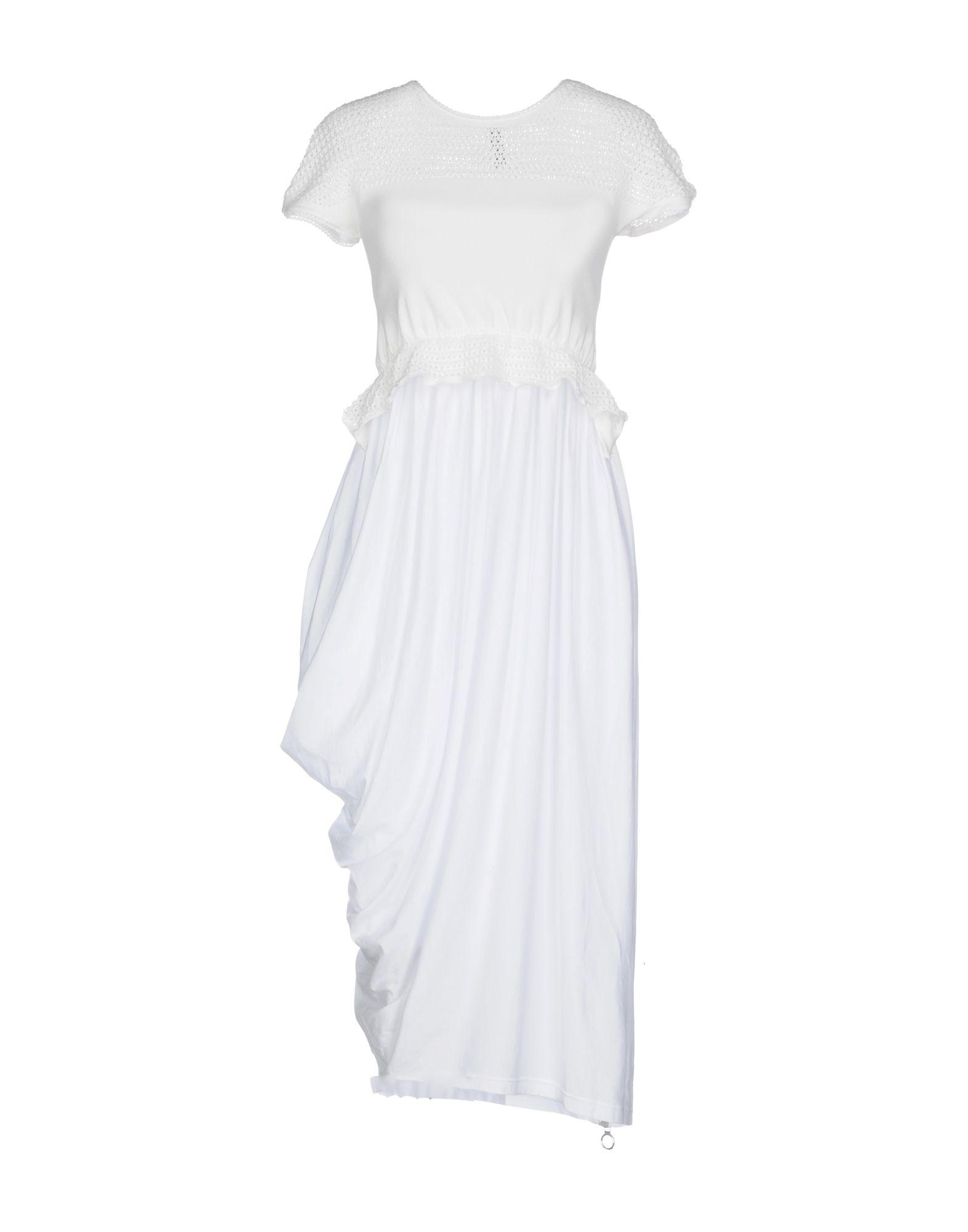 цена HIGH TECH Платье до колена онлайн в 2017 году