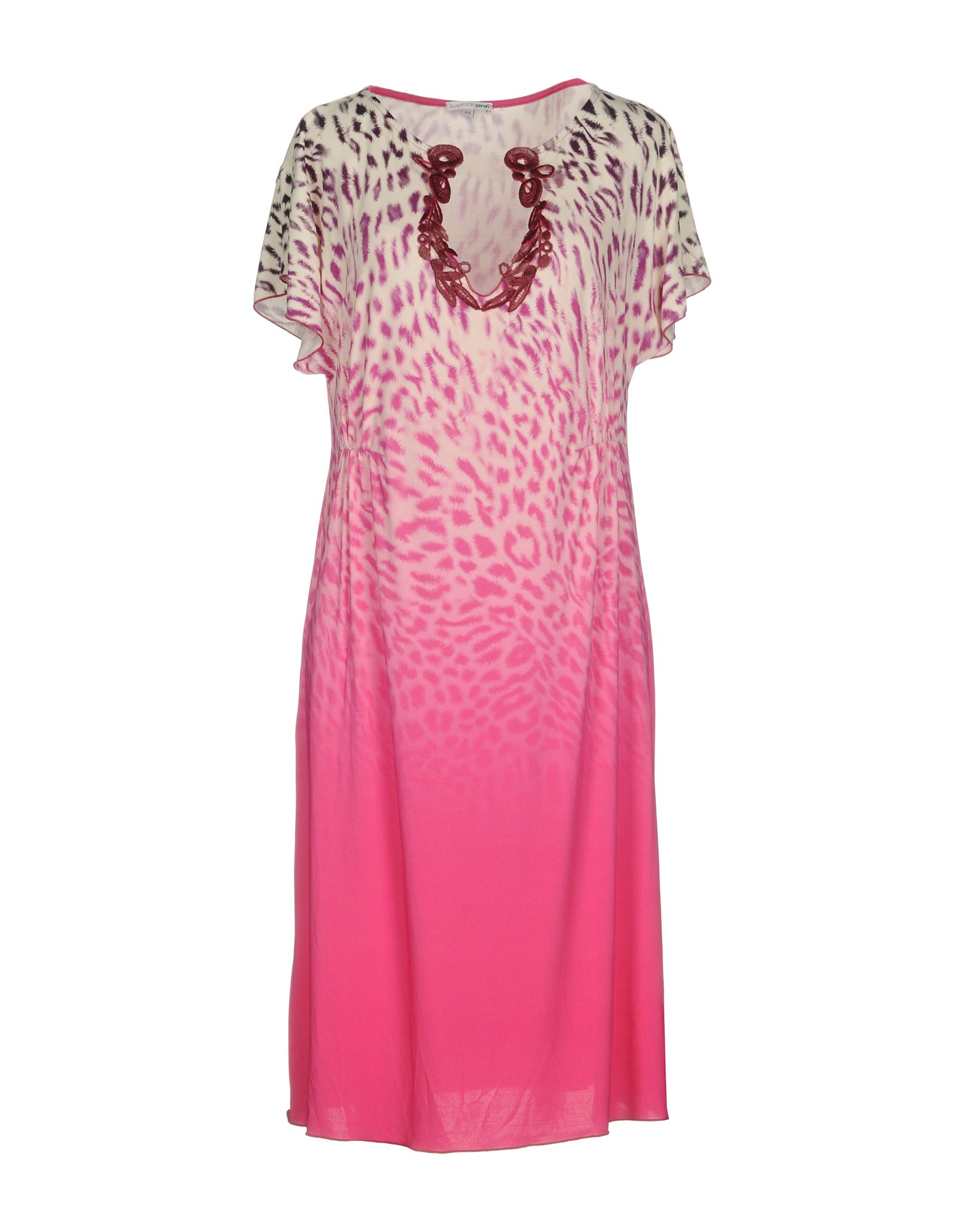 цена IMPRONTE PARAH Платье до колена онлайн в 2017 году